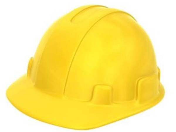 黄色安全帽