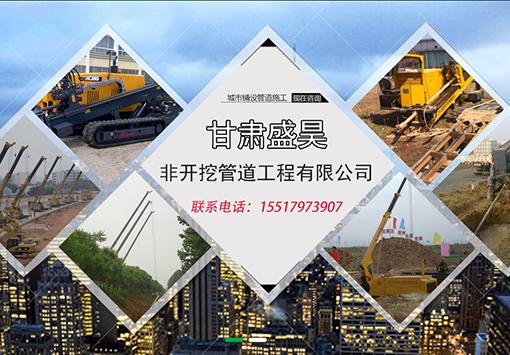 甘肃盛昊非开挖管道工程公司跟启航合作网站优化推广项目