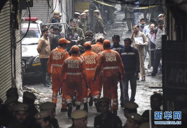 兰州网站建设分享印度新德里火灾造成至少43人死亡超50人受伤