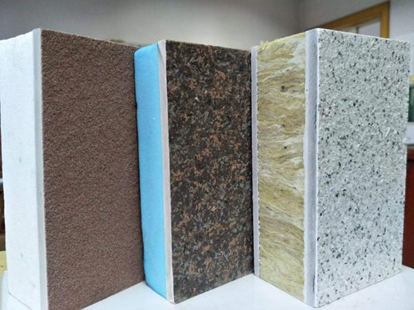 保温结构一体化板