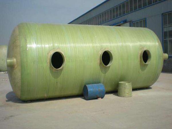 甘肃新型玻璃钢化粪池