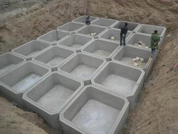 甘肃家用水泥化粪池