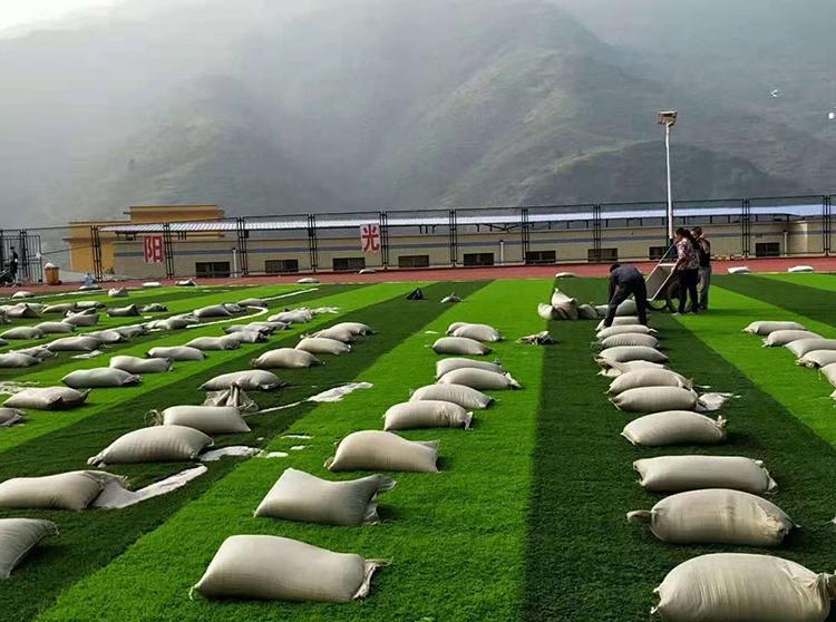 草坪填充石英砂