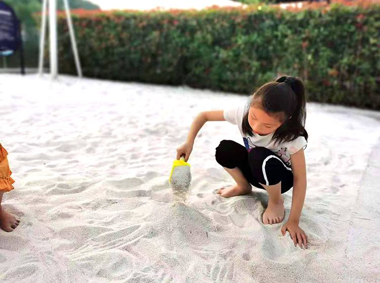 儿童砂池石英砂厂家