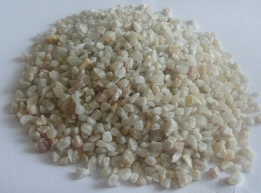 凈化過程中應防止石英砂流失
