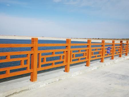仿木护栏安装