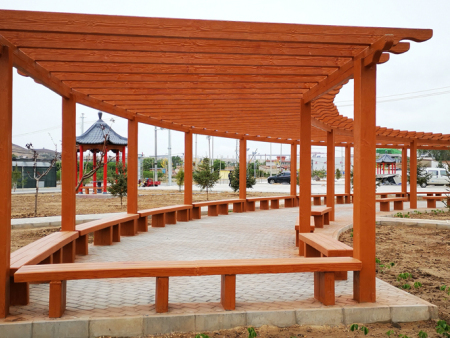 新区西岔镇漫湾村景观工程