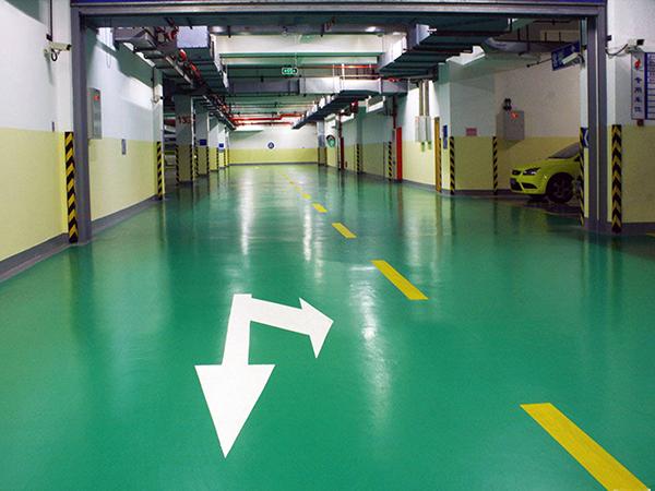 彩色防滑耐磨地坪