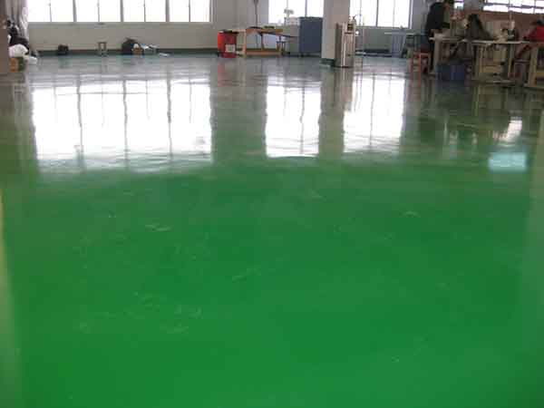 环氧树脂自流平地坪