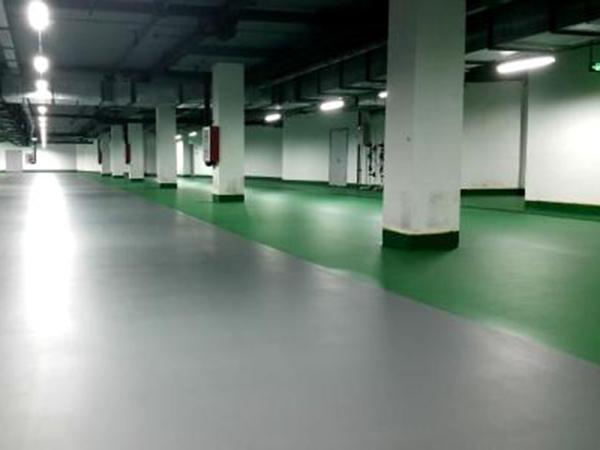 停车场水性环氧地坪