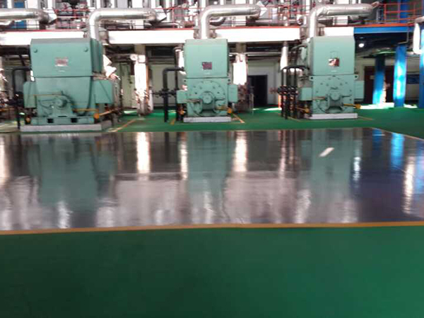 西固大唐电厂1100平方米环氧地坪施工