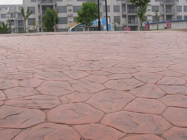 善群地坪带您了解压花地坪的适用范围