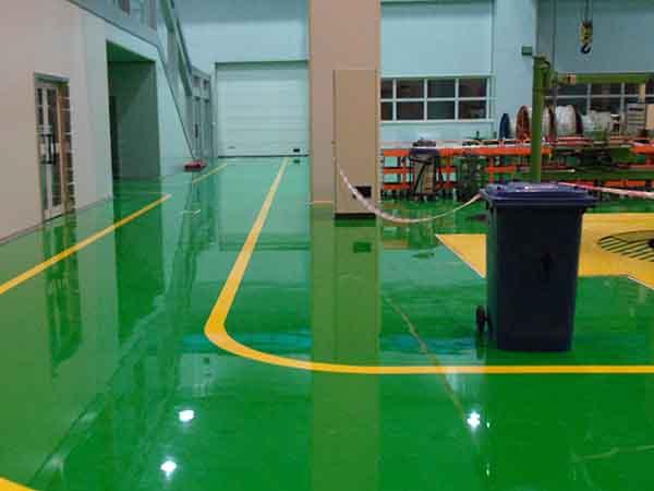 透明环氧树脂地坪