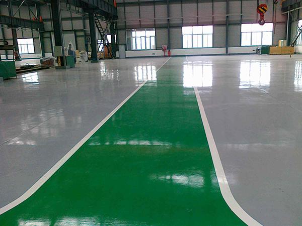 篮球场水性环氧地坪施工
