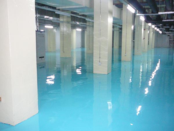 食品厂水性环氧地坪