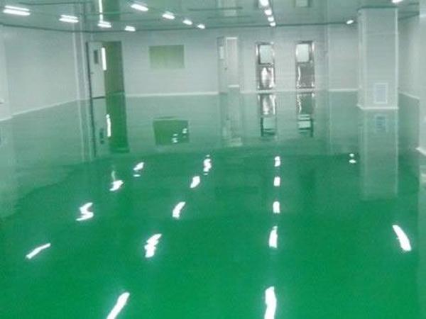 环氧树脂地板有哪些优点