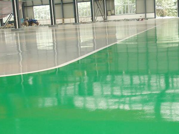 环氧地坪漆施工工艺:环氧底涂