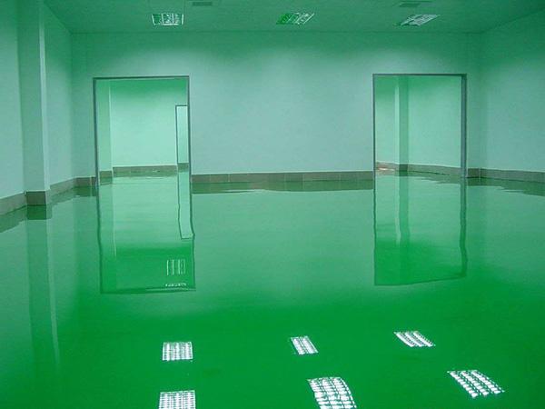 环氧树脂地坪施工