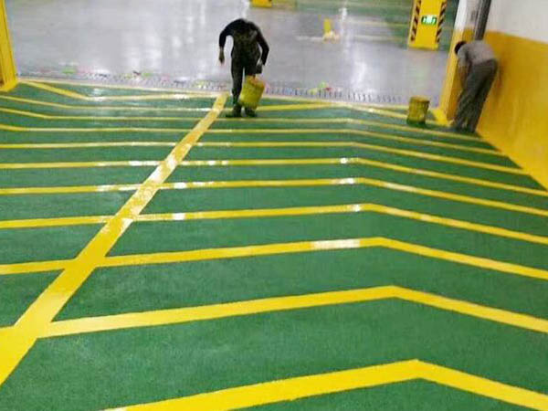 环氧树脂薄涂地坪工程