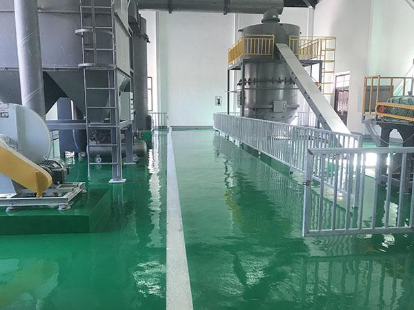东乡县达板镇无害化垃圾处理站聚氨酯超耐磨地坪