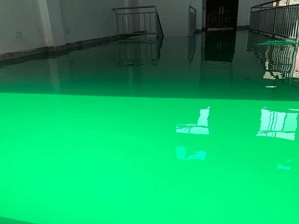 榆中水电站三干电站环氧地坪