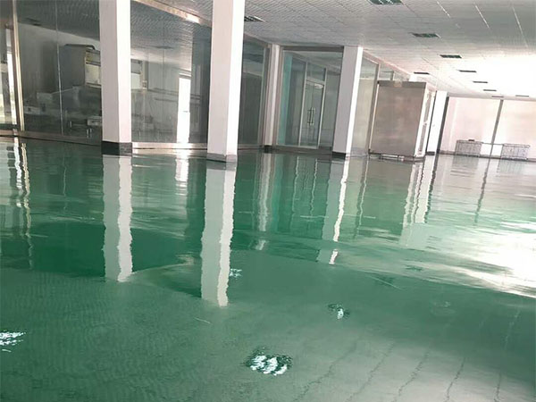 西宁昶林粮贸公司车间环氧地坪项目