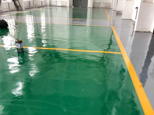 甘肃白银市景泰变电工区维修车间环氧地坪项目