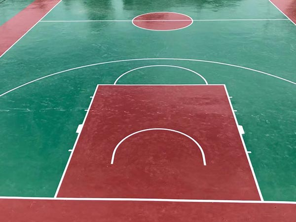 聚氨酯丙烯酸篮球场