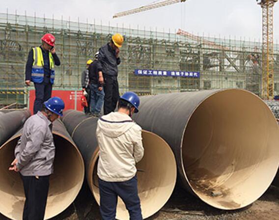 蘭州地彭家坪凈水廠采購防腐鋼管