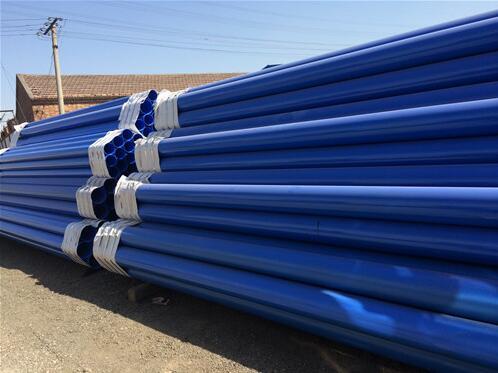 什么是涂塑復合鋼管?它的特點是什么?