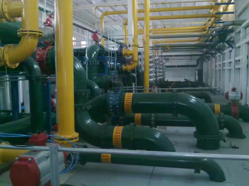 蘭州排水管道工程設施施工中