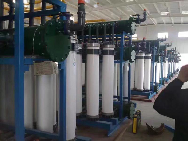 蘭州水處理系統工程廠家施工現場