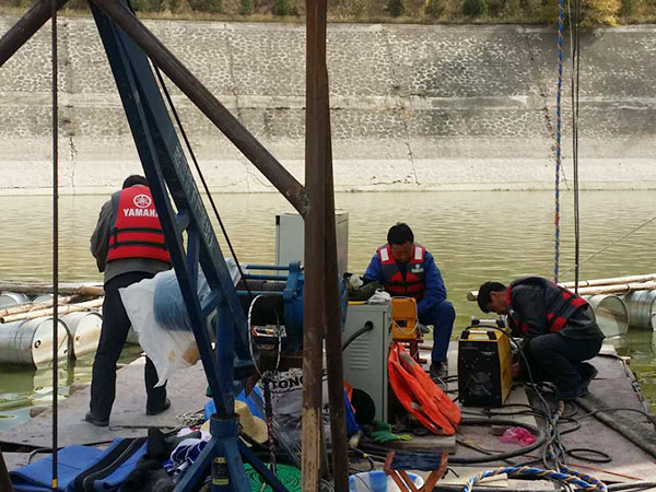 水庫大壩水下檢測
