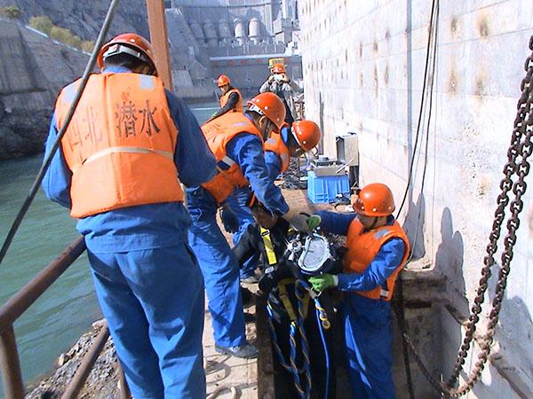 模型設計打撈施工預備任務