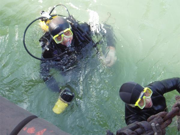 水下打撈沉物時對模型設計員及功課對象的請求