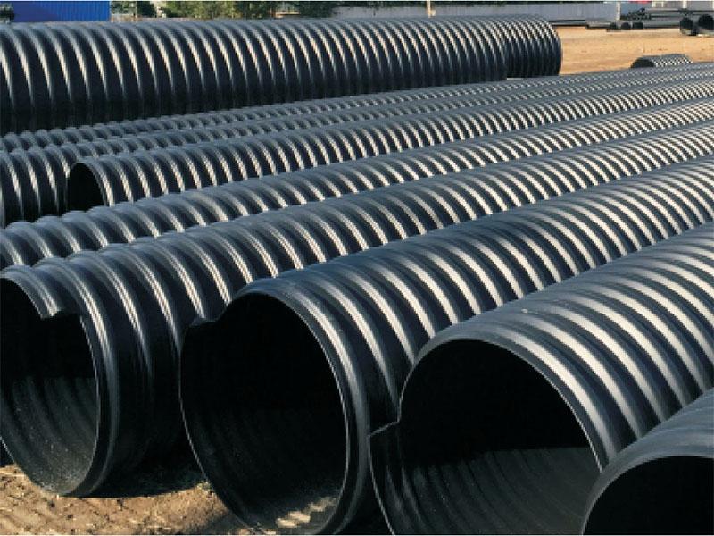 钢带增强聚乙稀螺旋波纹管