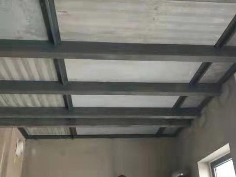 水泥压力板钢结构室内隔层