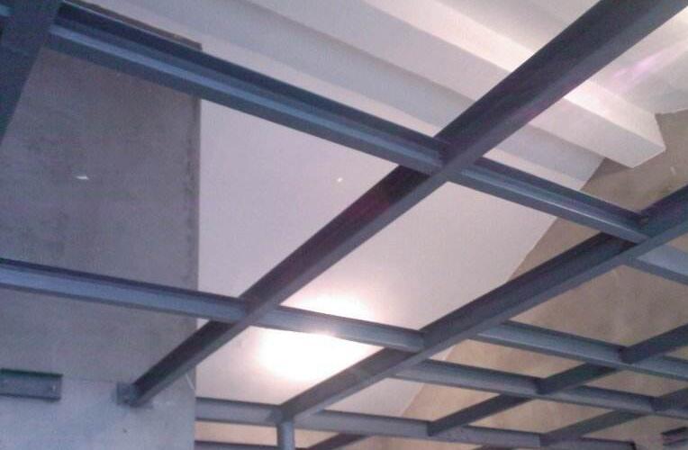 室内钢结构二层
