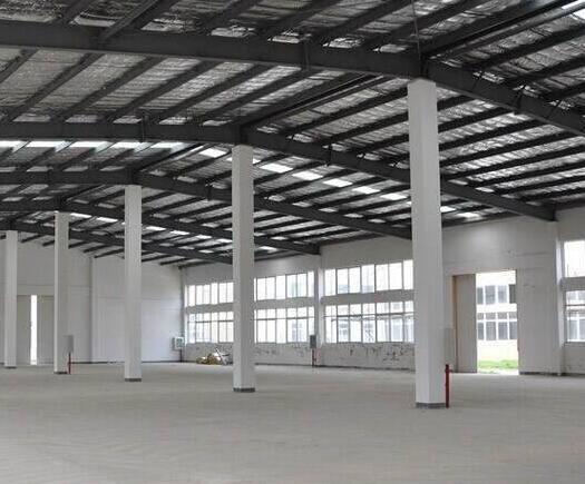 钢结构厂房施工步