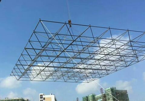 临夏网架钢结构怎么安装才够合理,看这里为您解答