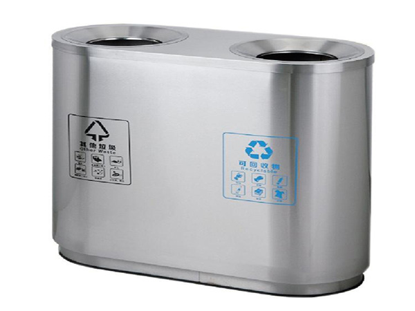 不锈钢环保垃圾桶