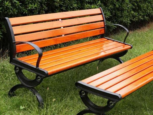 公园防腐木椅子