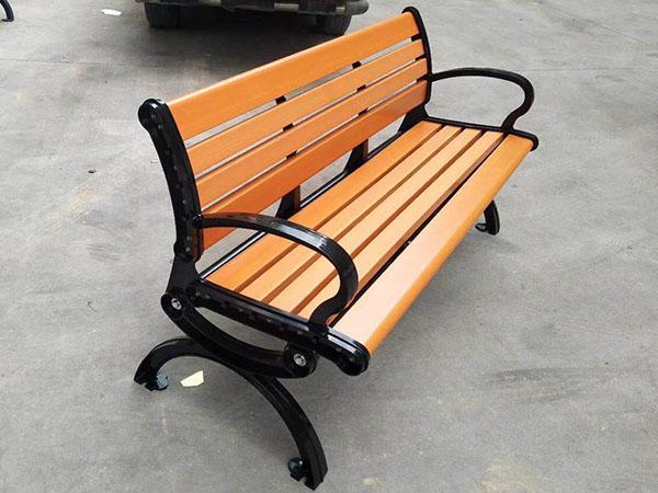 户外塑木椅子