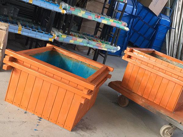 室外防腐木花箱