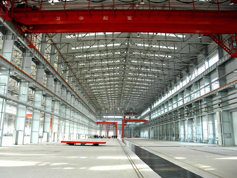 兰石集团钻采车间钢结构工程