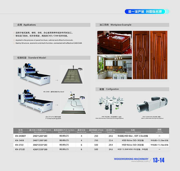 木工加工中心数控设备