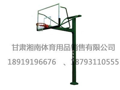 1010地埋式方管篮球架