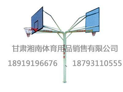 1015地埋式圆管篮球架