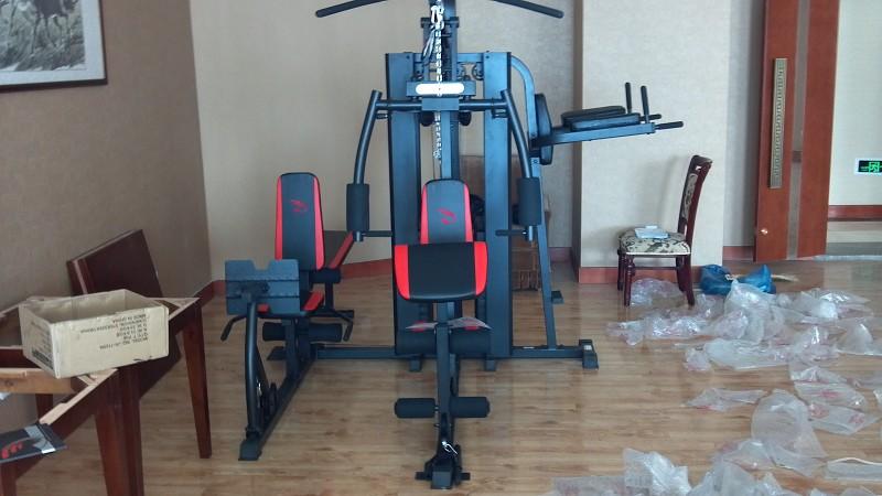 武威天马宾馆健身房健身器材