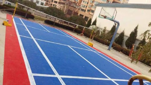 陇西县财政局羽毛球场
